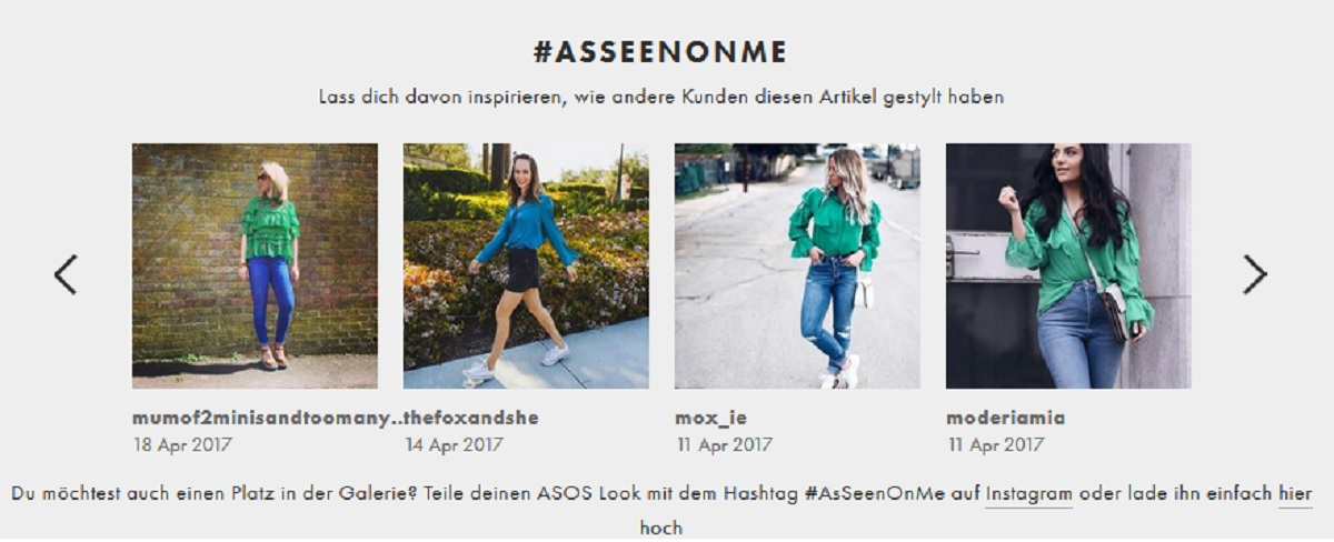 Asos as seen on me grüne Rüschenbluse mit Cut Outs Modeblog Momblog Mamablog Fashionblog