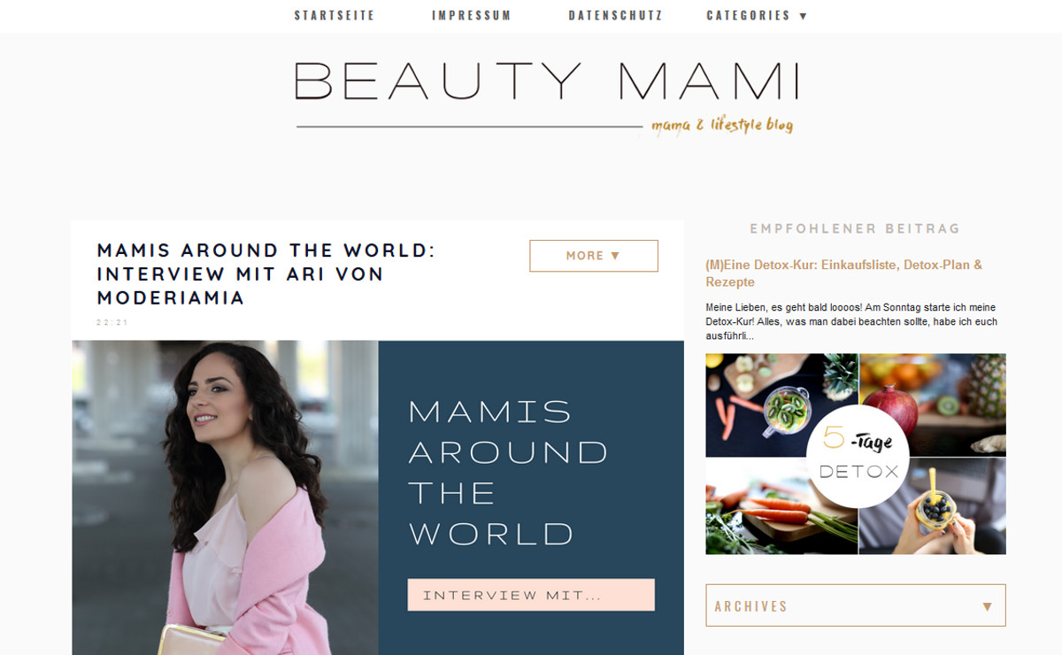 Beauty Mamai Blog Moderiamia