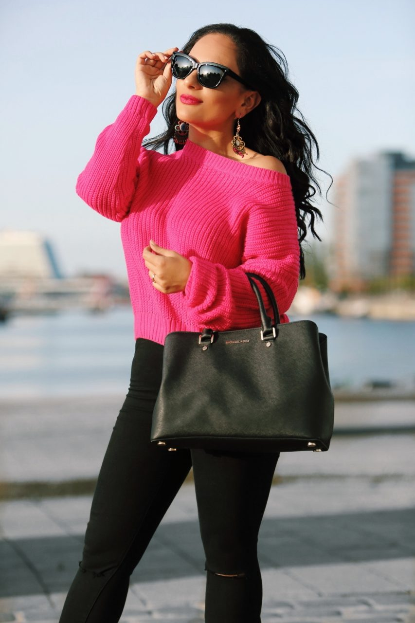 sonnenbrille-pinker-pullover-city-style-outfit-modeblog-fashion-blog-mamablog.